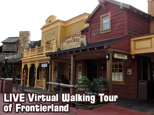 Virtual Walking Tour of Frontierland – History, Secrets, Details, Stories and more!