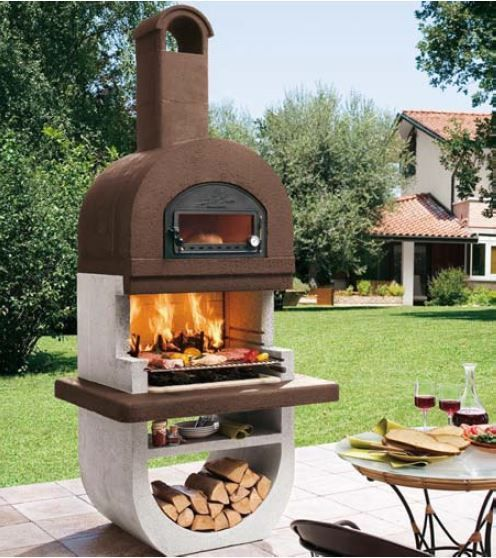 Palazzetti Diva Barbecue Outdoor Cooking Grill By Paini Outdoor Fireplace Designs Outdoor Cooking Grills Barbecue Garden
