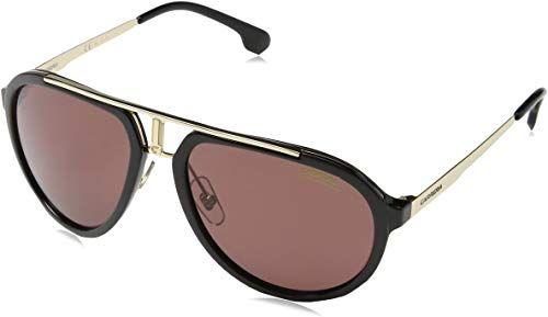 Nautica Mens N4631sp Polarized Aviator Sunglasses GOLD 58 mm