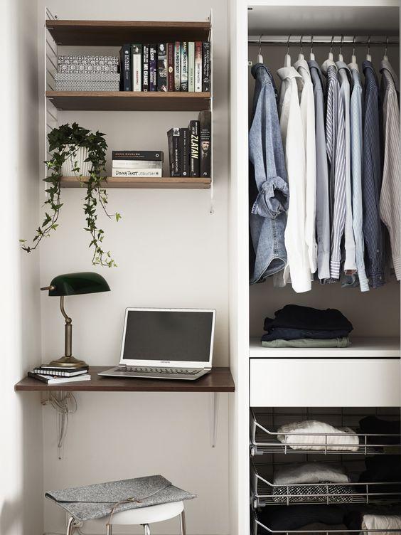 Tiny workspace: