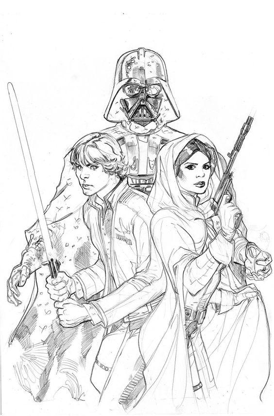 Star Wars: Vader Down #1 Variant Cover Pencil by TerryDodson on DeviantArt
