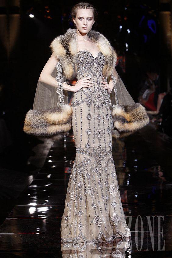Zuhair Murad - Couture - Fall-winter 2008-2009 - http://en.flip-zone.com/fashion/couture-1/fashion-houses/zuhair-murad,693