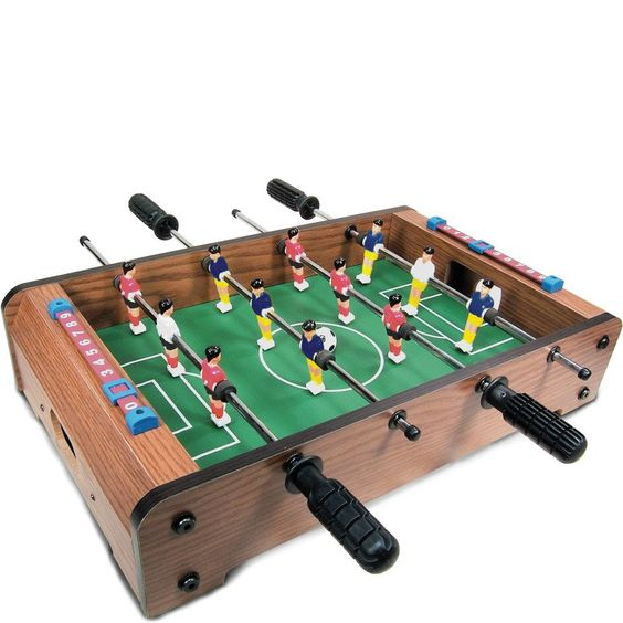 Wooden Tabletop Football - Games for children - Traditional Toys | Letterbox