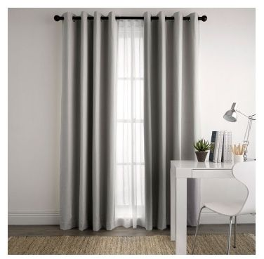 Paleo silver block out curtain freedom | FURNITURE & ACCESSORIES ...