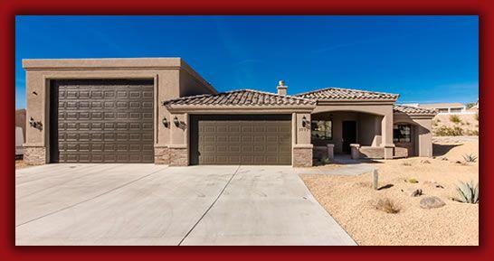 Rv Garage Floor Plan Sunset Homes Of Arizona Experienced Builder