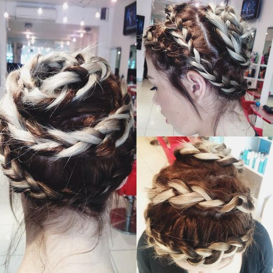 Our junior Kerry tried a quirky hair updo idea on Chelsea this morning...what do you think?