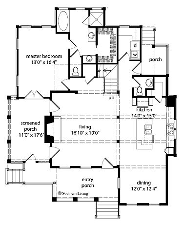 House Plans The O 39 Jays And Southern Living On Pinterest
