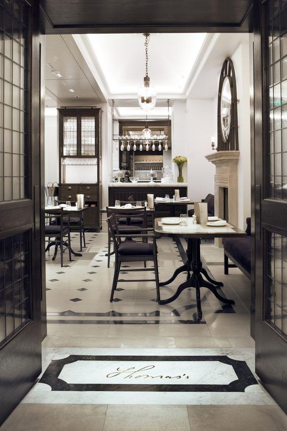 Burberry inaugura su Café Thomas's en Londres.: