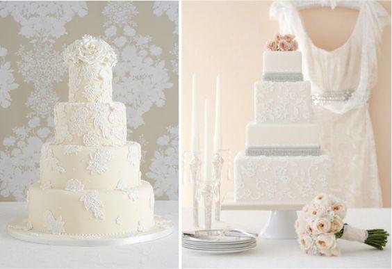lace-inspired wedding cakes: Dress Weddingcakes, Lace Weddingcake, Cake Ideas, Lace Cake, Wedding Dress, Lace Wedding Cakes