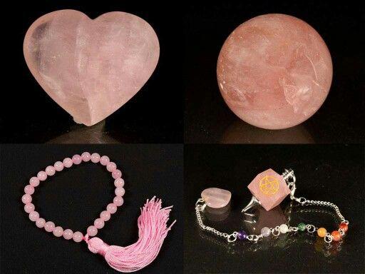 Quartzo  Rosa . A pedra do amor e da paz. Harmonização dos Relacionamentos.