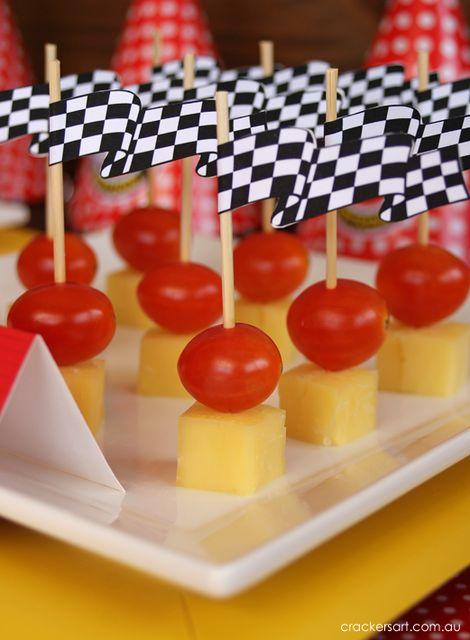 Race Cars Birthday Party Ideas | Photo 18 of 32: