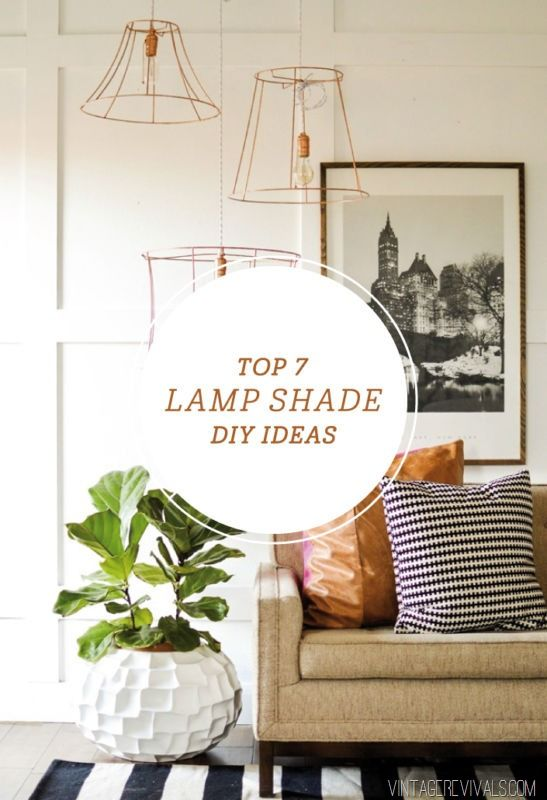 7 lampshade projects
