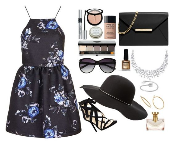 """Summer"" by rebekah3383 ❤ liked on Polyvore featuring Topshop, Nine West, MICHAEL Michael Kors, Charlotte Russe, Vince Camuto, Bobbi Brown Cosmetics, Christian Dior, Sephora Collection, CB2 and MAKE UP FOR EVER"