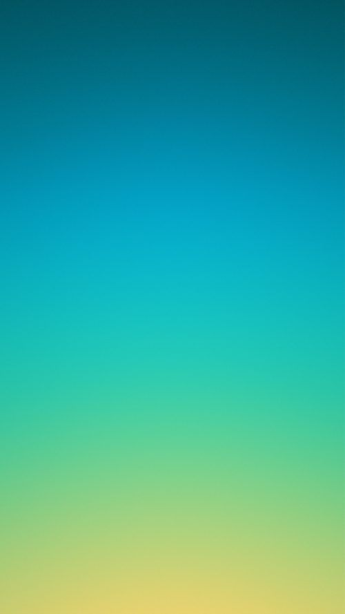 Oppo F1s Wallpaper With Blue And Yellow Color Gradation Latar