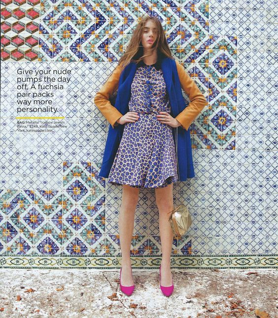 Lucky Magazine, November 2012  Stylist: Eleanor Strauss  Assistant Stylist: Hannah Dilworth  Assistant Stylist: Lauren Edelstein