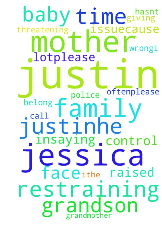 Please pray for my grandson, justin the mother of - Please pray for
