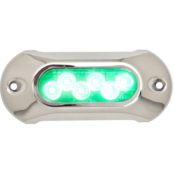 attwood light armor underwater led light - 6 leds - green, Reel Combo