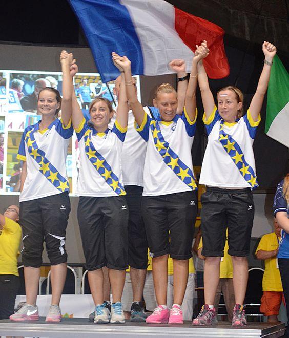 """Pétanque : les """"Bleuettes"""" championnes d'Europe  - Championnats d'Europe de…"""
