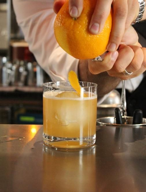 Recipe: Classic Amaretto Sour from Four Seasons Hotel Prague.