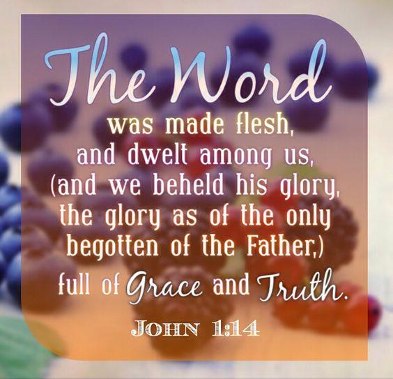 John 1:14: