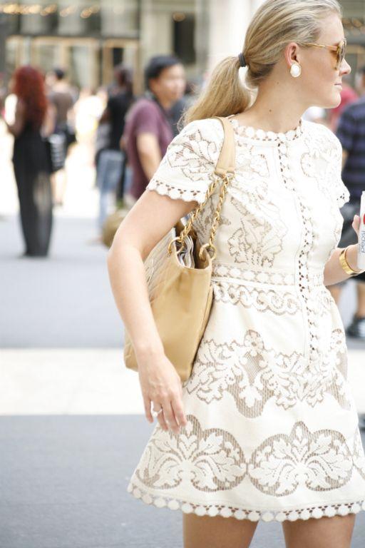 Style white dress lace