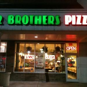 Brothers Pizza Harrisburg PA ... missing my mid day lunches from Old Navy with my girls. <3