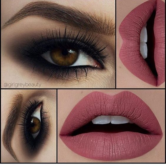 Soft Smokey & Burgundy Lips | Makeup on Point | Huda Lashes | By Meagane Ellise MUA