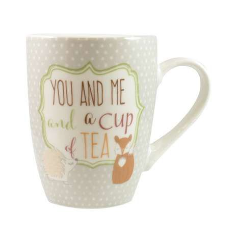 Made from dishwasher and microwave safe porcelain, this rustic themed mug…