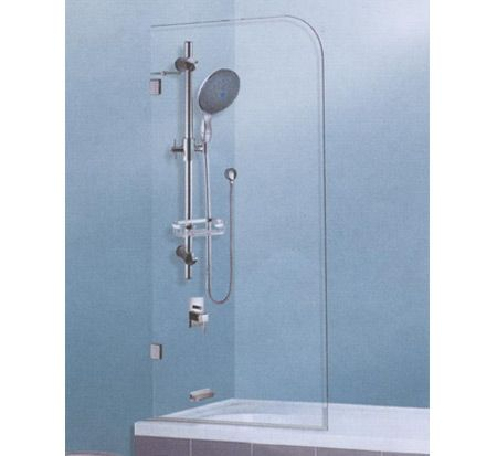 And a shower like this over my new and improved bath...