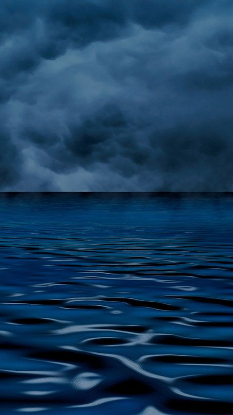 Free Wallpapers Backgrounds For Phones With Fwvga Display Resolution 480 X 854 Pixels 16 9 Ratio Dark Blue Ocean Dekoration Sets Textil