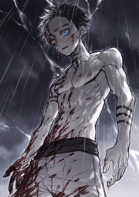 Akaaazaaaaa You Mffff How Dare You Make Me Cry With Your Backstory In 2020 Dark Anime Guys Slayer Anime Anime