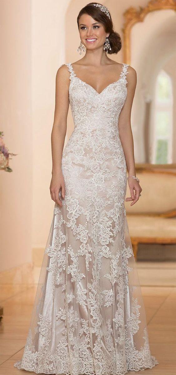 vestido de renda Stella York: