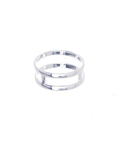 Another great find on #zulily! Sterling Silver Cutout Ring #zulilyfinds