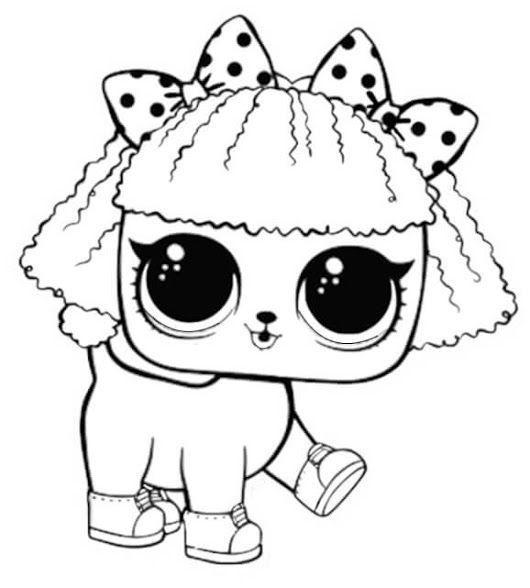 Dibujos De Lol Pets Para Colorear Paginas Para Colorear