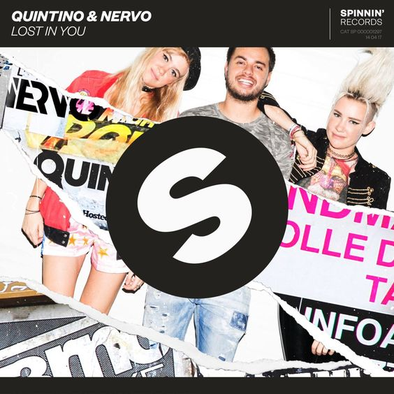 Quintino, Nervo – Lost In You (single cover art)