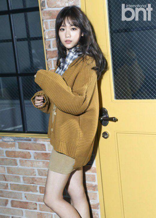 Kim Seul Gi BNt International magazine january 2016 photos