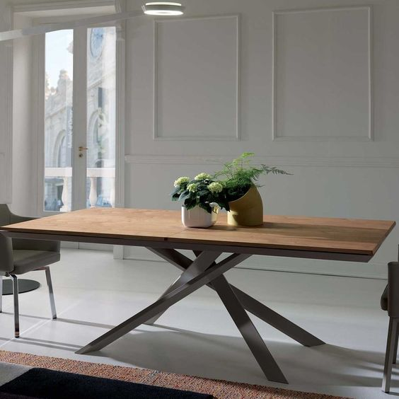 YumanMod Quadron Extendable Dining Table | Wayfair