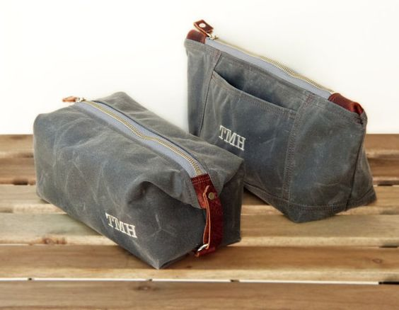 Personalized His and Hers Toiletry Bags Set, Gift for Him and Her ...