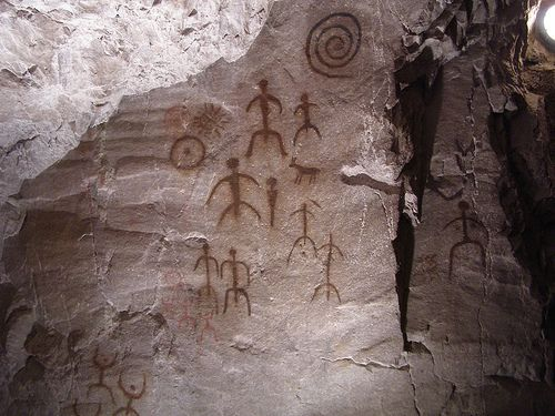 Val camonica italy cave paintings and petroglyphs