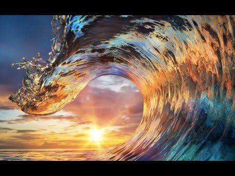 76 Colorful Ocean Wave Acrylic Painting Live Tutorial Youtube Ocean Painting Ocean Waves Sunset Canvas