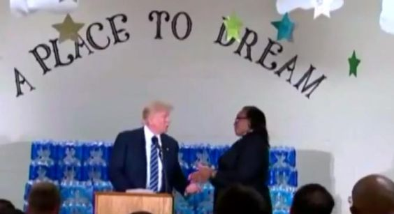 Church Pastor Completely Shuts Down Trump When His Remarks About Flint TurnPolitical -  Church Pastor Completely Shuts Down Trump When His Remarks About Flint TurnPolitical Donald Trump was invited to speak at Bethel United Methodist Church after taking a tour of Flint's water treatment plant. When his speech started disparaging Hillary Clinton the pastor of the church Faith Green Timmons promptly interjected sayingMr. Trump I invited you here to thank us for what weve done in Flint not give…