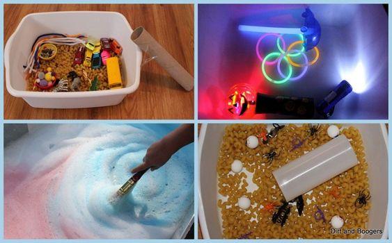Sensory Tray-Glowing Box