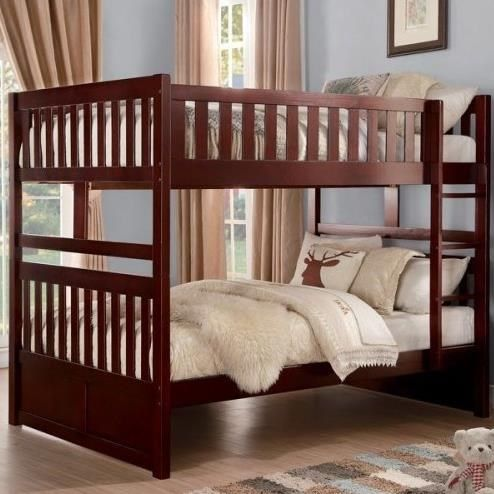 Rowe Casual Full Over Full Bunk Bed By Homelegance With Images