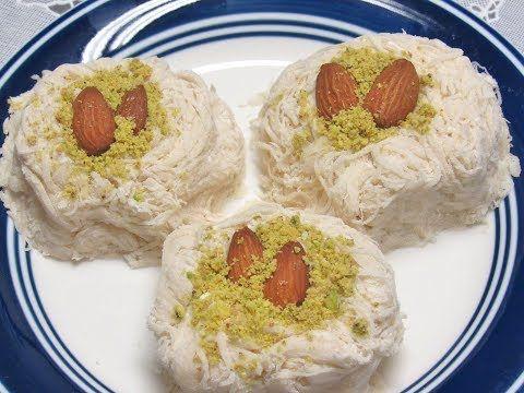 حلاوة غزل البنات حلاوة شعر بنات الطبخ العربي حلويات رمضان 2018 Youtube Desserts Food Cooking