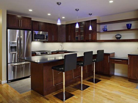 Interior fascinating brooklyn italian kitchen cabinet for Modern italian kitchen designs