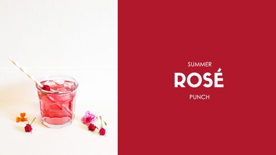 Summer Rose Punch // cocktails, weddings, drinks, recipes: Recipes Cocktails, Cocktail Recipes, Cocktails Beverages, Drinks Recipes, Cocktails Weddings, Weddings Drinks, Whimsical Weddings, Drink Recipes