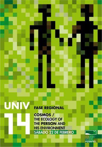Cartel del Congreso Foro UNIV 2014 organizado por el Colegio Mayor Peñafiel y Cooperación Internacional Valladolid