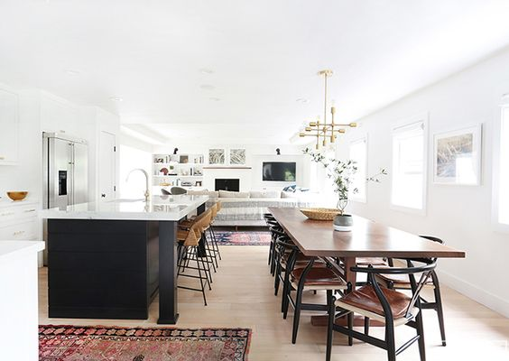 Antes y despuÉs de una cocina abierta e integrada con el salÓn ...