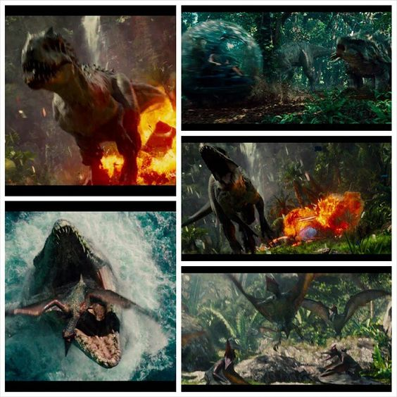 Jurassic World- the Unvealing of the Indominus Rex and more