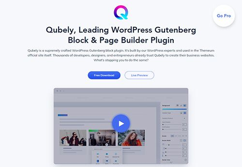 The Leading WordPress Gutenberg Plugin